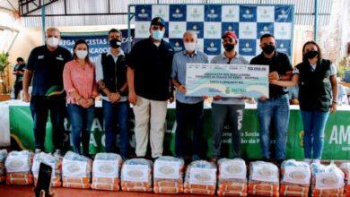 Foto de Mais de 4,3 mil cestas básicas são entregues a pescadores do Alto Solimões