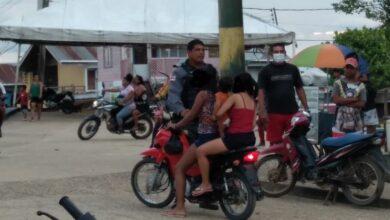 Foto de PC de Atalaia do Norte, alertam pais que não permitam filhos menores dirigir motocicletas em vias publicas