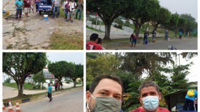 Foto de Mutirão de limpeza continua em Tabatinga, afirma prefeito em exercício Paulo Bardales