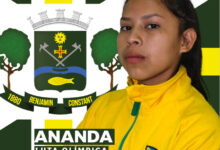 Foto de Atleta Benjaminense Ananda Souza está na Sérvia para 1° Mundial Estudantil de Luta Olímpica