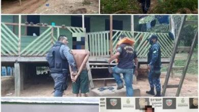 Foto de Valentão bate na própria tia e é preso em comunidade da zona rural de Benjamin Constant